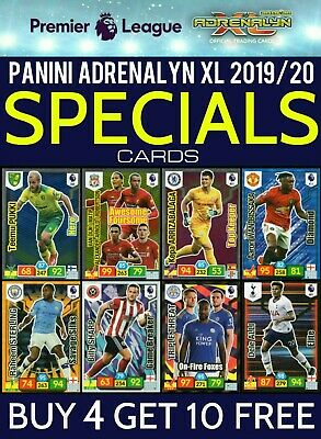 Panini Adrenalyn Xl Premier League 2019/20 Elite Diamond Hero Buy 2 Get 10 Free