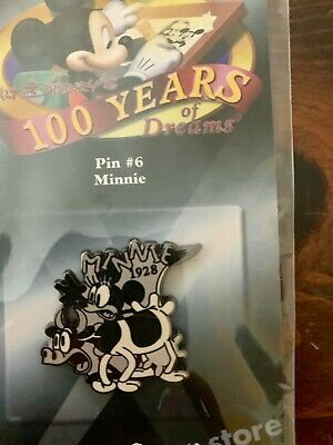 Walt Disneys 100 Years of Dreams Minnie Mouse with Cow Pin #6