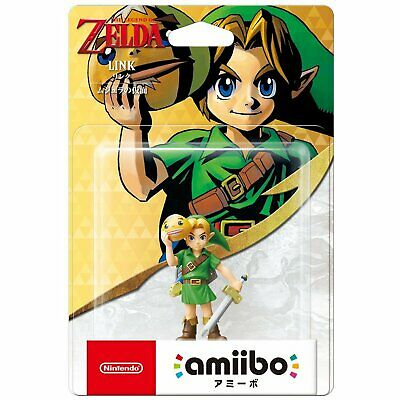 Nintendo Amiibo The Legend of Zelda Series - Link [Majora's Mask] For Switch NS