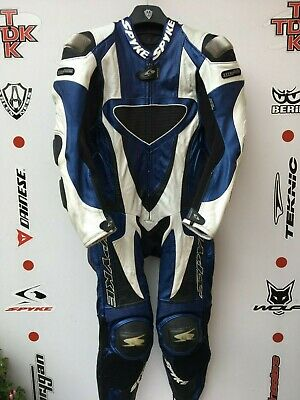Skype Titanium 1 piece race suit with hump uk 36 euro 46