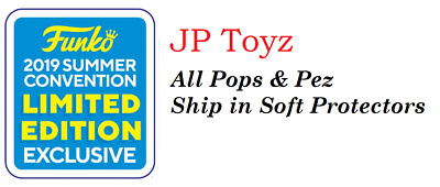 Funko Pop! 2019 SDCC/Summer Convention Exclusives All Pops Under PPG Value