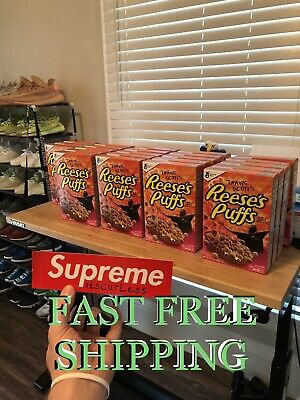 Limited Travis Scott X Reeses Puffs Cereal - Normal Sized - SOLD OUT RARE!