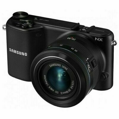 Samsung NX NX2000 20.3MP Digitalkamera - Schwarz (Kit mit ED 20-50mm Objektiv)
