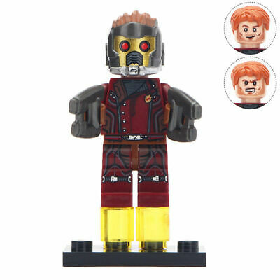 Star Lord - Guardians Of the Galaxy, Super heroes Minifigure Lego Moc
