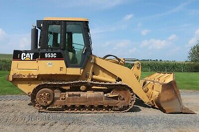 1997 Cat 953C Crawler Loader, Cab, Heat, A/C, Single Joystick 11,687 hrs.