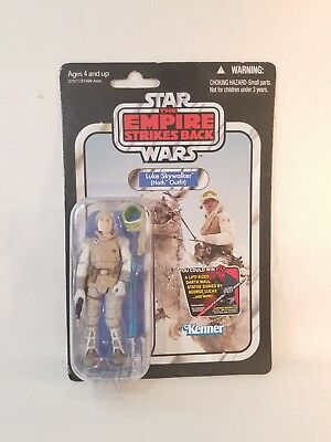 Kenner Star Wars The Empire Strikes Back Luke Skywalker Hoth Outfit MOC 2012