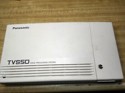 Panasonic TVS50 Voice Processing System 2 Port Voicemail