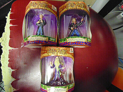 Enesco Harry Potter Christmas Ornaments Dumbledore- Weasley- Hermione