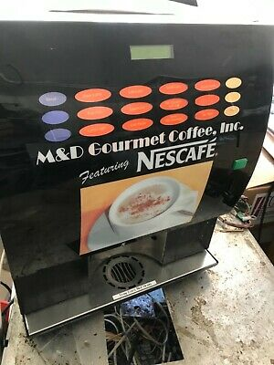 6-12 Flavor Cappuccino coffee latte hot chocolate Machine ... used