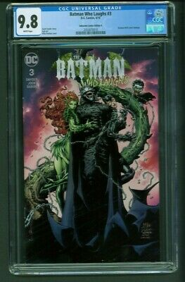 Batman Who Laughs #3 CGC 9.8 Unknown Comics Edition A Mico Suayan Variant Cover