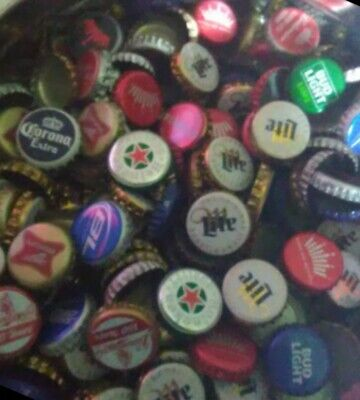 1400 Beer Bottle Caps Lot No Dents! Budweiser Miller Heineken Corona Bud Light