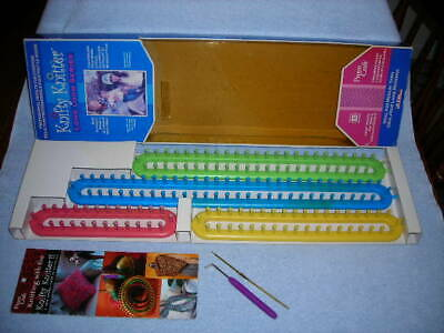 Provo Craft Knifty Knitter Long Loom Series / Box