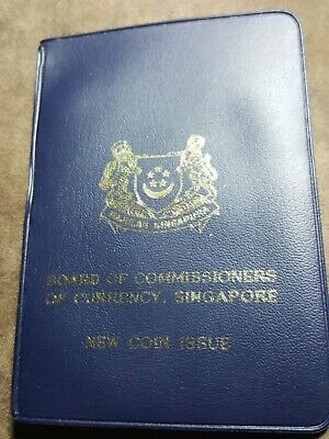 1968 Singapore Board of Commissioners Currency Mint Set