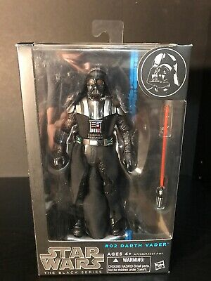 Hasbro DARTH VADER #02 Removeable Mask MIB STAR WARS The BLACK SERIES 2013 6in.