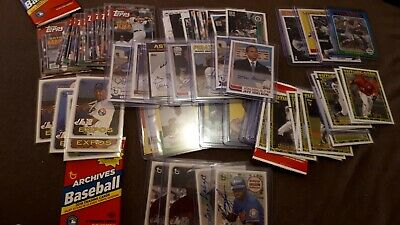 2019 Topps Archives Inserts, Autographs, Parallels You Pick UPick From List Lot