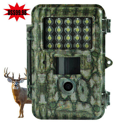 Boly Trail Hunting Game Camera White LED 18MP Take Color Pic&Video Day&Night #7