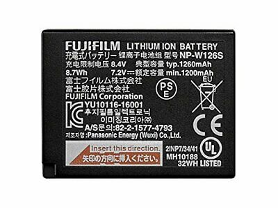 Fujifilm NPW126S Lithium-Ion Rechargeable Battery