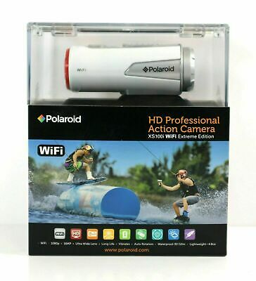 Polaroid XS100i Wi-Fi Extreme Edition HD 1080p 16MP Waterproof plus free cover