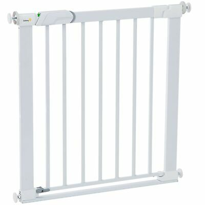 Safety 1st SecureTech Flat Step Metal Child Stair Gate