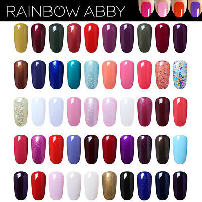 Soak Off Gel Polish Led UV Nail Colour Base Top Manicure Nail Art SALON QUALITY