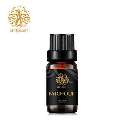 Pure Organic Patchouli Natural Essential Oil Aromatherapy Diffuser Burner 10ml