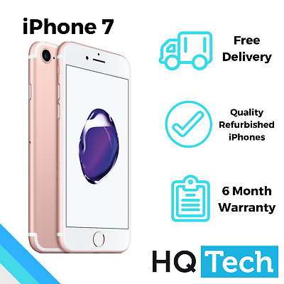 Apple iPhone 7 32GB Rose Gold Pre-Owned Refurbished Unlocked Smartphone