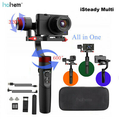 Hohem iSteady Multi 3 Axis Handheld Gimbal Stabilizer for GoPro Osmo Smartphones