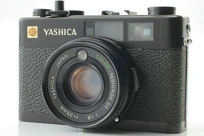 """"""" Appearance N Mint+ AS IS """"  Yashica Electro 35 CC Rangefinder Black  #106A"""