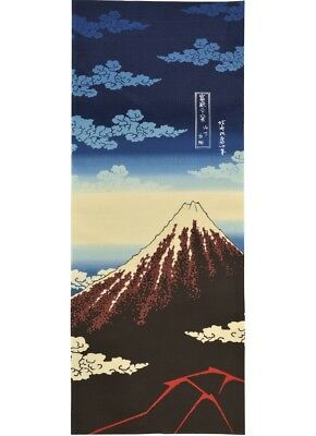 Japanese traditional towel TENUGUI  HOKUSAI UKIYOE FUJIMOUNTAIN  MADE IN JAPAN