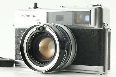 """"""" Appearance N Mint+ AS IS """" Minolta Hi-MATIC 7s Rangefinder From JAPAN #102A"""