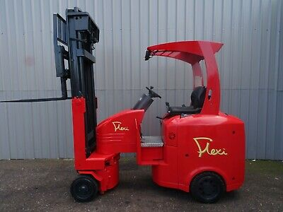 FLEXI EURO 2000Kg. USED ARTICULATED ELECTRIC FORKLIFT TRUCK. (#2530)