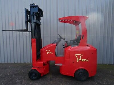 FLEXI G3 2000Kg. USED ARTICULATED ELECTRIC FORKLIFT TRUCK. (#2525)
