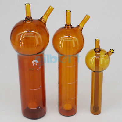 10/25/50/75/125ml Brown Sulfur Dioxide Absorber Tube Bottle Apparatus Chemi