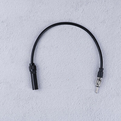 Car antenna extension cord male to female am/fm radio adapter cable ~PL