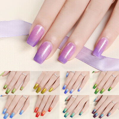 10ml Sequins UV Gel Polish Temperature Color Changing Fashion Nail Art Decor
