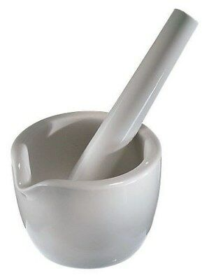 Coors Mortar and Pestle 60310, 50mL, Porcelain, Clean, Excellent