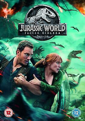 Jurassic World Fallen Kingdom DVD. New and sealed. Free delivery.