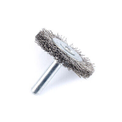 """10Pc 2"""" Stainless Steel Wire Wheel Brush For Metal Grinder Rotary Tool 1/4Shank"""