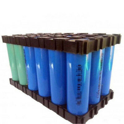 10Pcs 18650 Batterie Li-Ion Cellule Support Cylindrique Sécur~PL