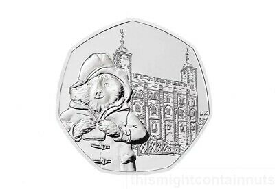 PADDINGTON BEAR AT THE TOWER 2019 from mint uncirculated SINGLE 50p COIN HUNT