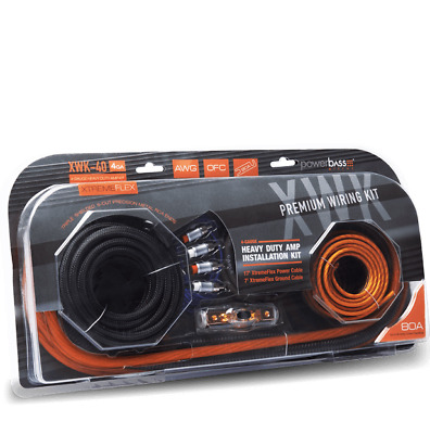 Knukonceptz PowerBass XWK-40 Car Audio Power