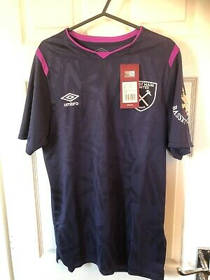 West Ham Shirt 2019/20 3rd Shirt U18 Small RRP £70 With F.Anderson Printed