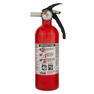 Fire Extinguisher 5-B:C Rated Disposable Emergency Home Car Garage Boat Kidde