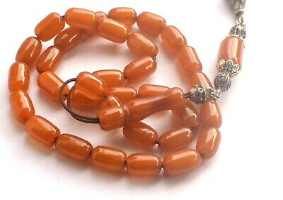 Antique  Very Old  Misketa Faturan, Bakelite Catalin, Worry Prayer Beads Tesbih