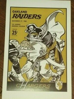 1960 Los Angeles Chargers Poster - AFL - Oakland Raiders - Lance Alworth - Hadl
