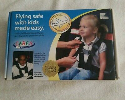 CARES Kids Fly Safe Airplane Harness Seatbelt Safety Restraint