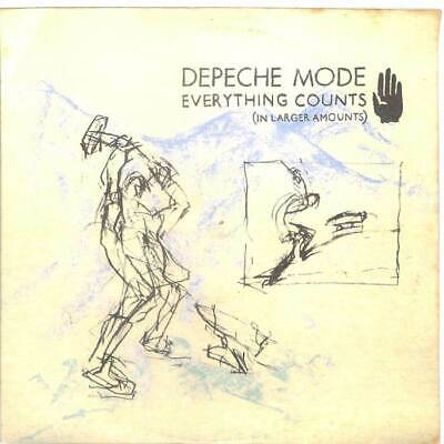 """Depeche Mode - Everything Counts And Live Tracks - 12"""" Vinyl Record Single"""