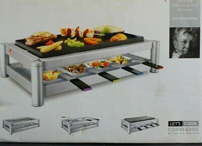 """Princess Combi Chef"" Appareil A Raclette / Grill / Barbecue / Plancha"