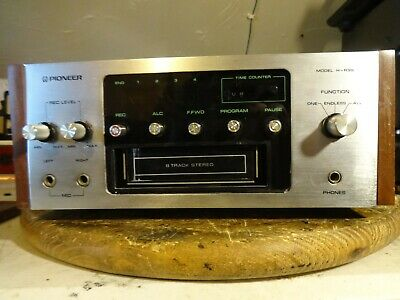 Pioneer H-R99 8-Track Player Serviced