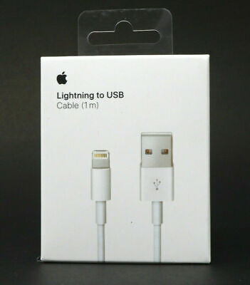 Genuine OEM Apple iPhone Plus Lightning to USB Charger Cable 1M/3Ft Length- NEW